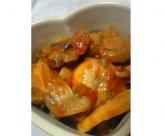 うまみ丸ごとマッシュルームとさんまのトマト煮