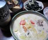 マッシュルームとえびのうまみ丸ごとクリームスープ