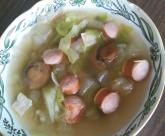 マッシュルームのコンソメスープ